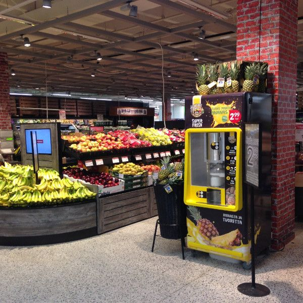 De Pine bar. Innovatie in de supermarkt